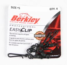 Застежка с Вертлюжком Berkley Mc Mahon Easy clip snaps/swivels